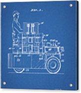 1968 Lift Truck Patent Acrylic Print