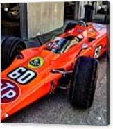 1968 Lotus 56 Turbine Indy Car #60 Angle Acrylic Print