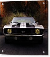 1969 Camaro Ss Acrylic Print