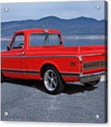 1969 Chevrolet Cst10 Pickup II Acrylic Print