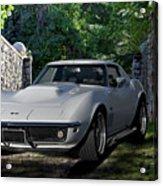 1969 Corvette Lt1 Coupe I Acrylic Print