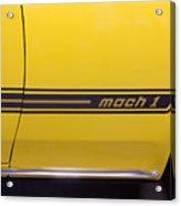 1969 Ford Mustang Mach 1 Logo Acrylic Print