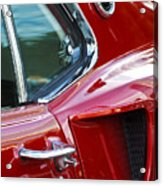 1969 Ford Mustang Mach 1 Side Scoop Acrylic Print