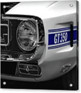 1969 Ford Mustang Shelby Gt350 1970 Acrylic Print