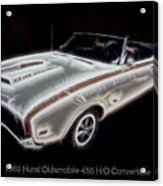 1969 Hurst Oldsmobile 455 Ho Electric Acrylic Print