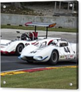 1969 Lola T163 And 1965 Wolverine Road America Acrylic Print