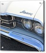 1969 Mercury Montego Mx Grille With Headlights And Logos Acrylic Print