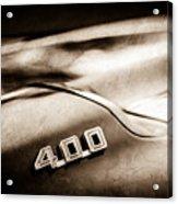 1969 Pontiac 400 Firebird Convertible -1039s Acrylic Print