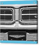 1969 Pontiac Gto  Acrylic Print