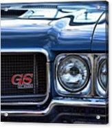1970 Buick Gs 455 Acrylic Print by Gordon Dean II