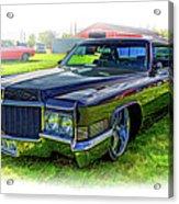 1970 Cadillac Deville - Vignette Acrylic Print