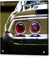 1970 Camaro Fat Ass Acrylic Print