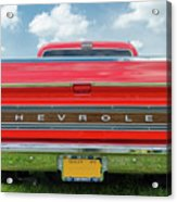 1970 Chevrolet Cs-10 Pickup Acrylic Print