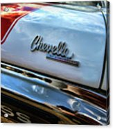1970 Chevy Chevelle Ss 396 Ss396 Acrylic Print