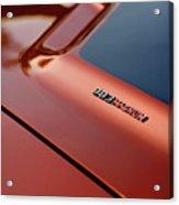 1970 Dodge Challenger Rt 383 Magnum Hood Acrylic Print
