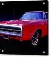 1970 Dodge Charger 500 Acrylic Print
