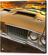 1970 Oldsmobile 442 W-30 Acrylic Print