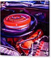 1970 Plymouth Road Runner Acrylic Print