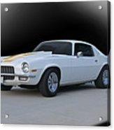 1971 Chevrolet Camaro I Acrylic Print