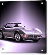 1971 Corvette Stingray 427 Zr1 II Acrylic Print