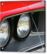 1971 Plymouth Barracuda Cuda Red  Acrylic Print