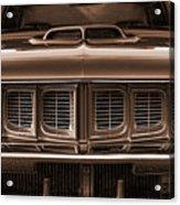 1971 Plymouth 'cuda 440 Acrylic Print