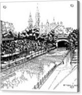 1971 Rideau Canal Ottawa Acrylic Print