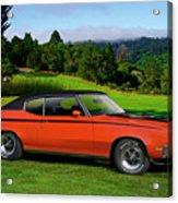 1972 Buick Gsx 455 Stage 1 Acrylic Print