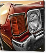 1972 Chevrolet Chevelle Ss  Acrylic Print