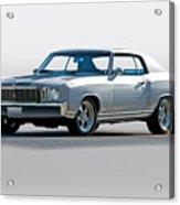 1972 Chevrolet Monte Carlo Acrylic Print