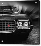 1972 Ford Gran Torino, Sport Fastback Acrylic Print