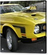 1972 Ford Mustang Mach 1 Acrylic Print