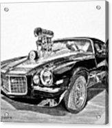 1973 Camaro Z28 Acrylic Print