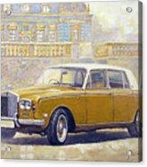 1973 Rolls-royce Silver Shadow Acrylic Print
