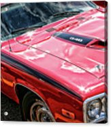1974 Plymouth Road Runner 340 Acrylic Print