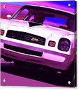 1978 Chevy Camaro Z28 Acrylic Print