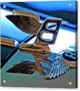 1980 Bentley Hood Ornament Acrylic Print
