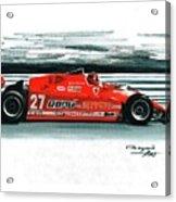 1981  Ferrari 126cx Acrylic Print