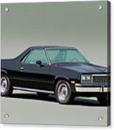 1983 Chevrolet El Camino 1 Acrylic Print