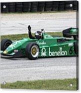 1983 Tyrrell 011 F1 At Road America Acrylic Print
