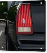 1988 Monte Carlo Ss Tail Light Acrylic Print