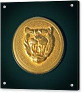 1994 Jaguar Xjs Emblem Acrylic Print