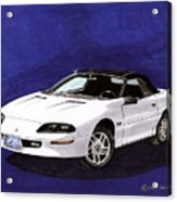 1995 Camaro Convertible Acrylic Print