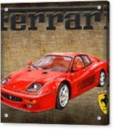 Ferrari F 512m 1995 Acrylic Print