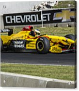 1997 Jordan 197 F1 At Road America Acrylic Print