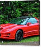 1998 Pontiac Firebird Trans Am Acrylic Print