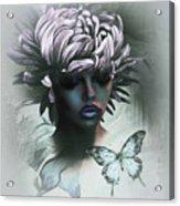 Sensual Beautiful Dahlia Acrylic Print