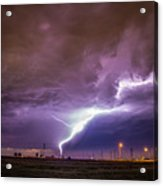 1st Severe Night Tboomers Of 2018 015 Acrylic Print