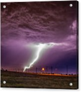 1st Severe Night Tboomers Of 2018 018 Acrylic Print