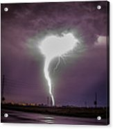 1st Severe Night Tboomers Of 2018 020 Acrylic Print